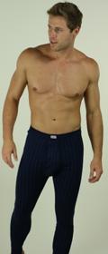 Lange Hose mit Eingriff Poseidon Feinripp 3er Pack