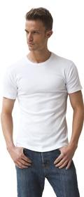 Athena 2x T-Shirts Col Rond Coton Bio (lot de deux)