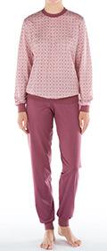 Calida Pyjama mit Bündchen Torino