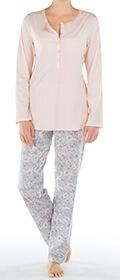 Calida Pyjama mit Knopfleiste Elba