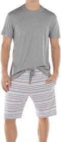 Calida Pyjama kurz Bardados mit Seitentaschen