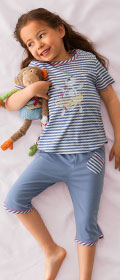 Calida Pyjama 3/4 Ocean Sweetie
