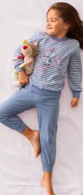 Calida Pyjama Ocean Sweetie mit Bündchen