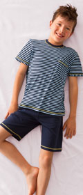 Calida Pyjama kurz Sailor
