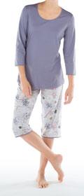 Calida Pyjama 3/4 Brittany