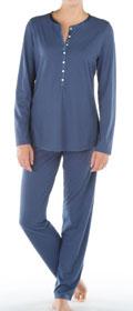 Calida Pyjama mit Knopfleiste Provence