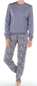 Calida Pyjama mit Bündchen Lyon