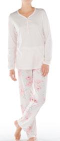 Calida Pyjama mit Knopfleiste Algarve