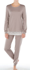 Calida Pyjama mit Bündchen Almada