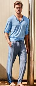 Calida Pyjama mit Knopfleiste Atlantis