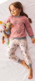 Calida Pyjama mit Bünchen Sweet Flower