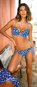Anita Paulina Bikini-Oberteil Blue Lagoon