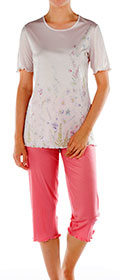 Calida Pyjama 3/4 St.Yves