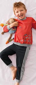 Calida Pyjama mit Bündchen Small Beach Boy