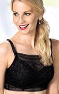 Anita Bandeau Spitzen Top Fleur