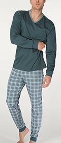 Calida Pyjama mit Bündchen Liam