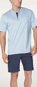 Calida Pyjama Kurz Matt