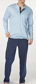 Calida Pyjama mit Knopfleiste Matt