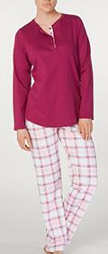 Calida Pyjama mit Knopfleiste Naomi