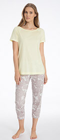 Calida Pyjama 7/8 Lilly