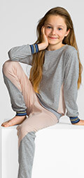 Calida Pyjama mit Bündchen Athleisure Girl