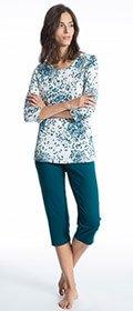 Calida Pyjama 3/4 Cosy Choice