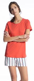 Calida Pyjama kurz Cosy Choice