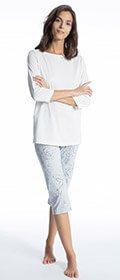 Calida Pyjama 3/4 Cosy Cotton Style