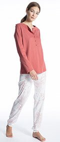 Calida Pyjama Cosy Cotton Style
