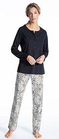 Calida Pyjama Cosy Cotton Fair