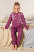 Calida Pyjama Your Winter Animals
