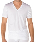 Calida V-Shirt Swiss Cotton