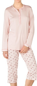 Calida Pyjama 3/4 Hollyrose
