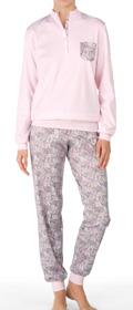 Calida Pyjama mit Bündchen Karelia