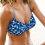 Frederica Bikini-Oberteil Blue Lagoon