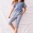 Calida Pyjama 3/4 Swimming Beauty Hose mit Taschen