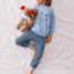 Calida Pyjama Mini Sailor mit Bündchen