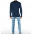 Calida Pyjama mit Knopfleiste St. Barth
