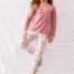 Calida Pyjama mit Knopfleiste Flower Power
