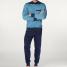 Calida Pyjama mit Bündchen True Classics Men