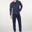 Calida Pyjama mit Bündchen Matt