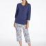 Calida Pyjama 3/4 Sandrine